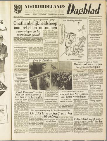 Noordhollands Dagblad : dagblad voor Alkmaar en omgeving 1958-10-04