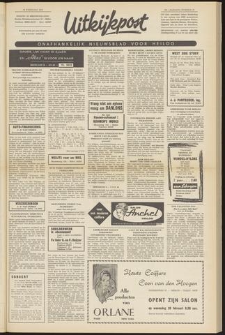 Uitkijkpost : nieuwsblad voor Heiloo e.o. 1963-02-14