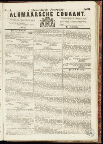 Alkmaarsche Courant 1863-01-25
