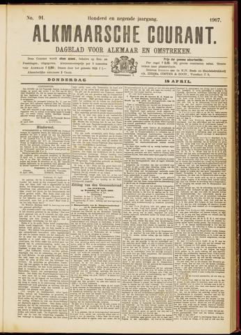 Alkmaarsche Courant 1907-04-18