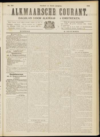 Alkmaarsche Courant 1908-11-10