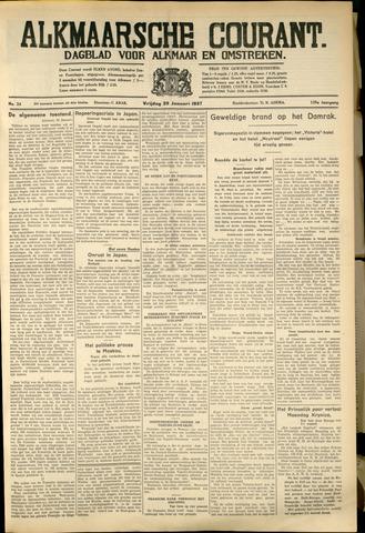 Alkmaarsche Courant 1937-01-29