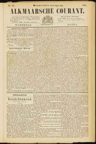Alkmaarsche Courant 1898-07-13