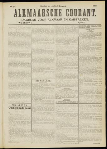 Alkmaarsche Courant 1912-06-05