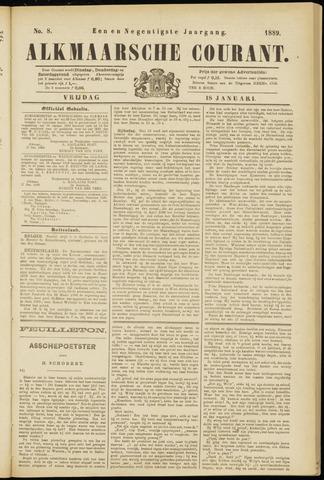 Alkmaarsche Courant 1889-01-18