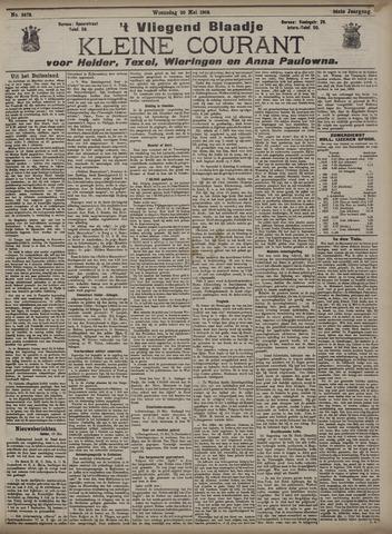 Vliegend blaadje : nieuws- en advertentiebode voor Den Helder 1908-05-20