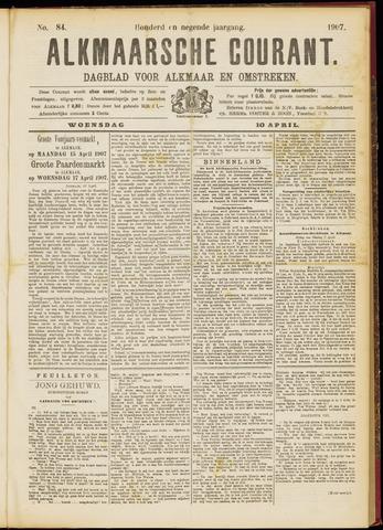 Alkmaarsche Courant 1907-04-10