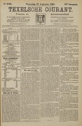 Texelsche Courant 1923-08-22