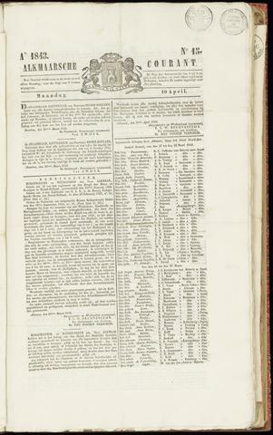 Alkmaarsche Courant 1843-04-10