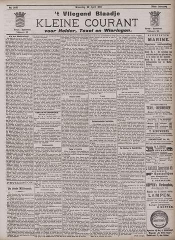 Vliegend blaadje : nieuws- en advertentiebode voor Den Helder 1902-04-30