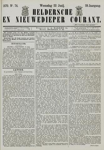 Heldersche en Nieuwedieper Courant 1870-06-22