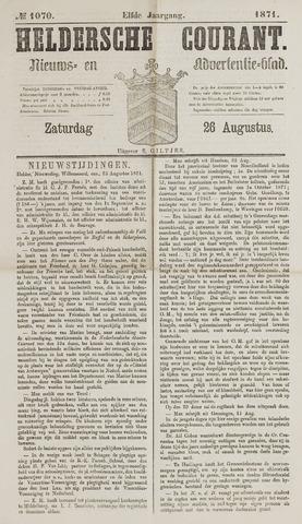 Heldersche Courant 1871-08-26