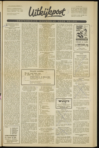 Uitkijkpost : nieuwsblad voor Heiloo e.o. 1961-07-13