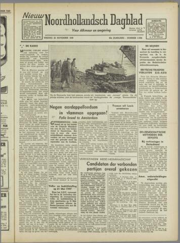 Nieuw Noordhollandsch Dagblad : voor Alkmaar en omgeving 1946-11-22