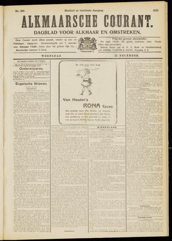 Alkmaarsche Courant 1912-12-11