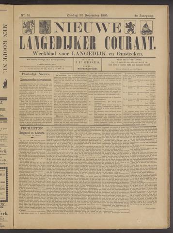 Nieuwe Langedijker Courant 1895-12-22