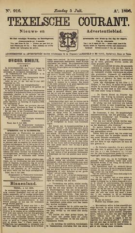 Texelsche Courant 1896-07-05