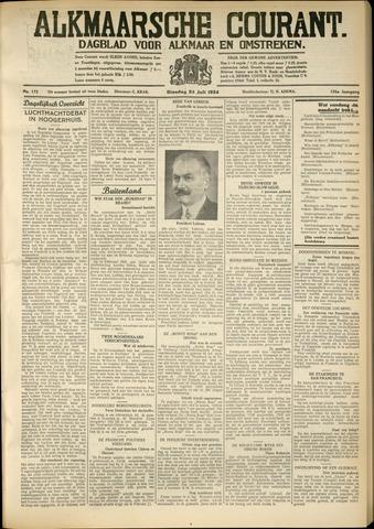 Alkmaarsche Courant 1934-07-24