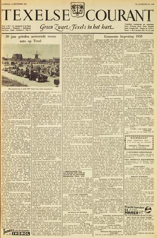 Texelsche Courant 1957-09-14