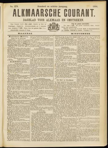 Alkmaarsche Courant 1906-11-26