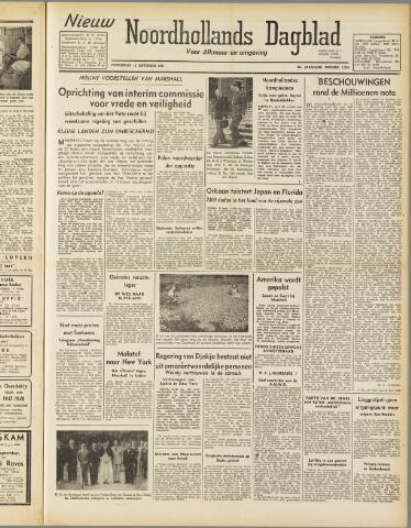 Nieuw Noordhollandsch Dagblad : voor Alkmaar en omgeving 1947-09-18