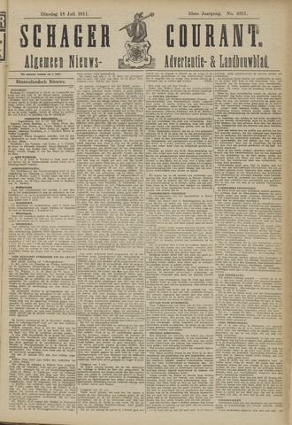Schager Courant 1911-07-18