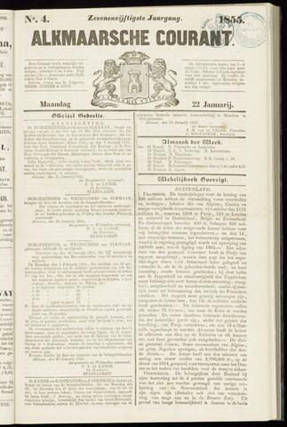 Alkmaarsche Courant 1855-01-22
