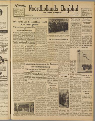 Nieuw Noordhollandsch Dagblad : voor Alkmaar en omgeving 1947-05-06