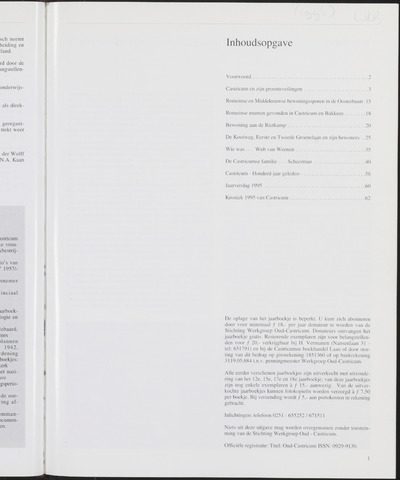 Jaarboek Oud Castricum 1996-11-01