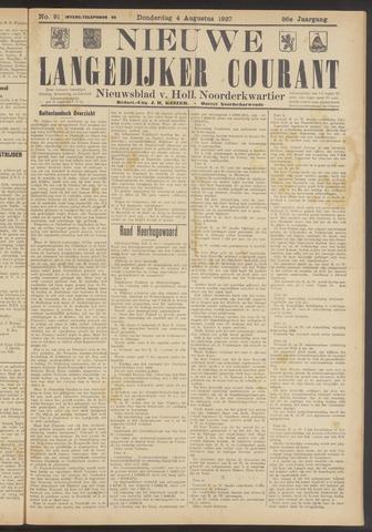 Nieuwe Langedijker Courant 1927-08-04