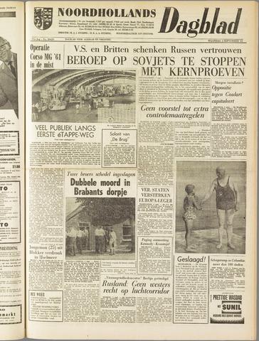 Noordhollands Dagblad : dagblad voor Alkmaar en omgeving 1961-09-04