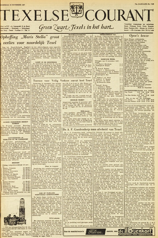 Texelsche Courant 1957-11-20