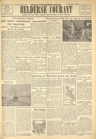 Heldersche Courant 1950-01-28