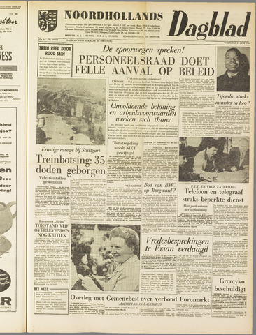 Noordhollands Dagblad : dagblad voor Alkmaar en omgeving 1961-06-14