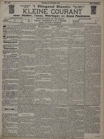 Vliegend blaadje : nieuws- en advertentiebode voor Den Helder 1907-12-28