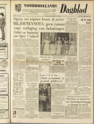 Noordhollands Dagblad : dagblad voor Alkmaar en omgeving 1962-09-19