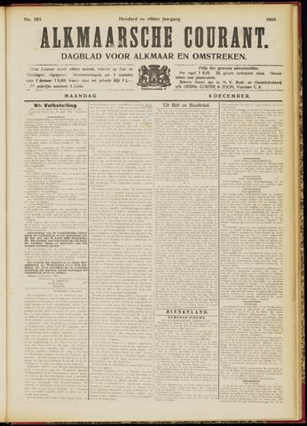 Alkmaarsche Courant 1909-12-06