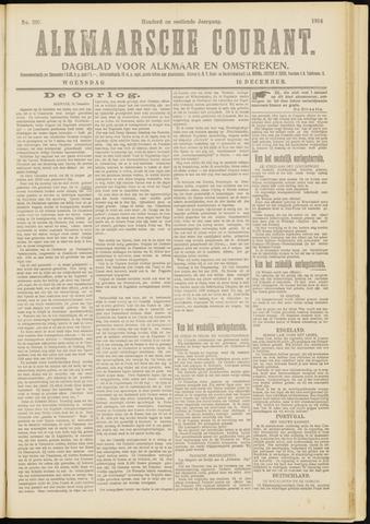 Alkmaarsche Courant 1914-12-16