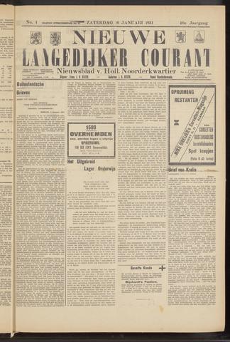 Nieuwe Langedijker Courant 1931-01-10