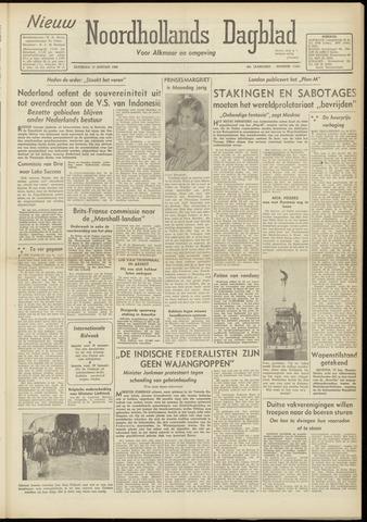 Nieuw Noordhollandsch Dagblad : voor Alkmaar en omgeving 1948-01-17