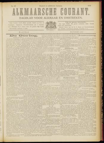 Alkmaarsche Courant 1916-02-28