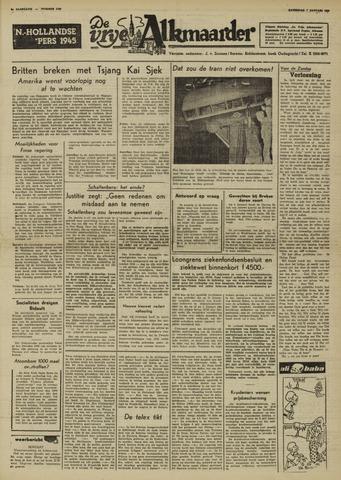 De Vrije Alkmaarder 1950-01-07