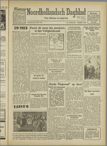 Nieuw Noordhollandsch Dagblad : voor Alkmaar en omgeving 1946-05-23
