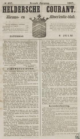 Heldersche Courant 1867-07-06