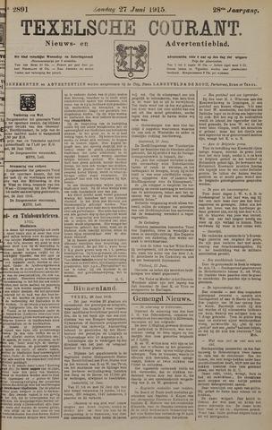 Texelsche Courant 1915-06-27