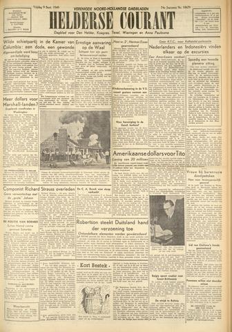 Heldersche Courant 1949-09-09