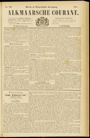 Alkmaarsche Courant 1895-10-09