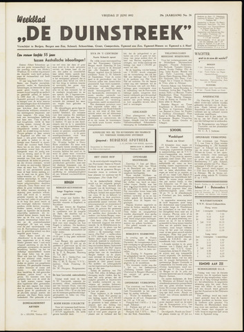 De Duinstreek 1952-06-27