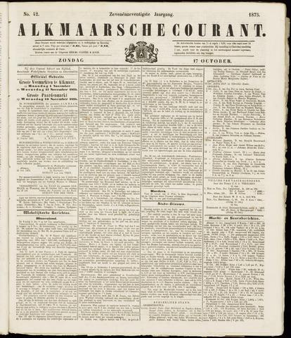 Alkmaarsche Courant 1875-10-17