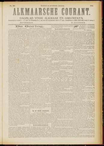 Alkmaarsche Courant 1915-12-16